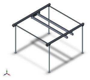 Проектирование строительного 3D принтера