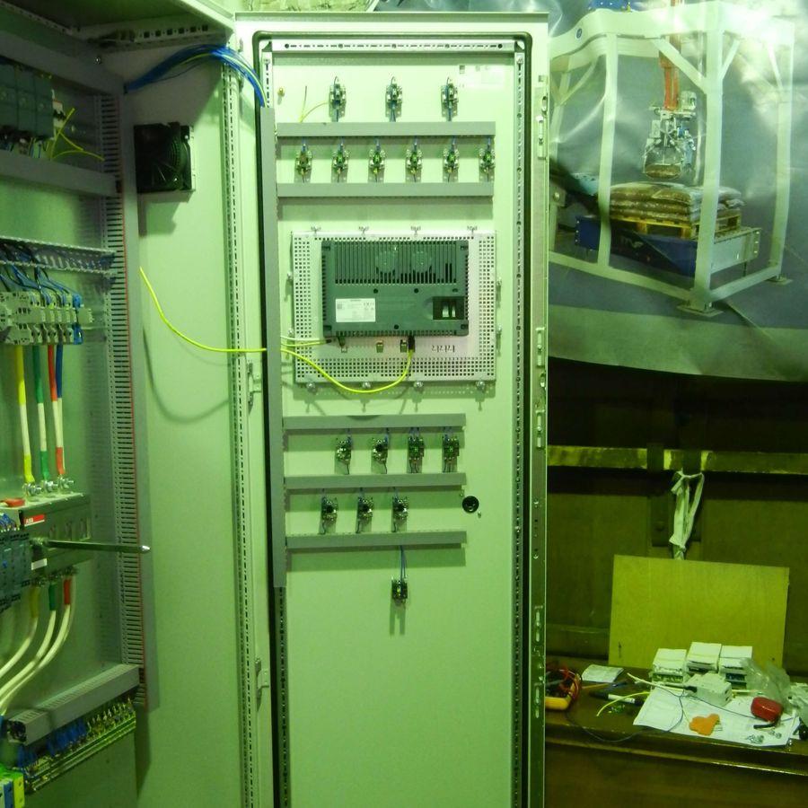 Шкаф управления - сборка МетКБ