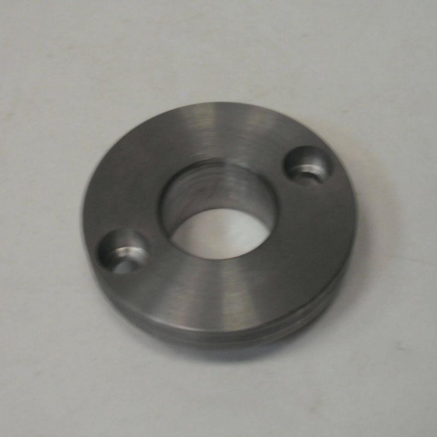 Кольцо с отверстиями - токарная обработка
