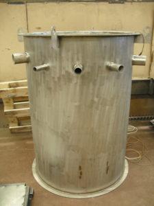 Сварка бака из нержавеющей стали