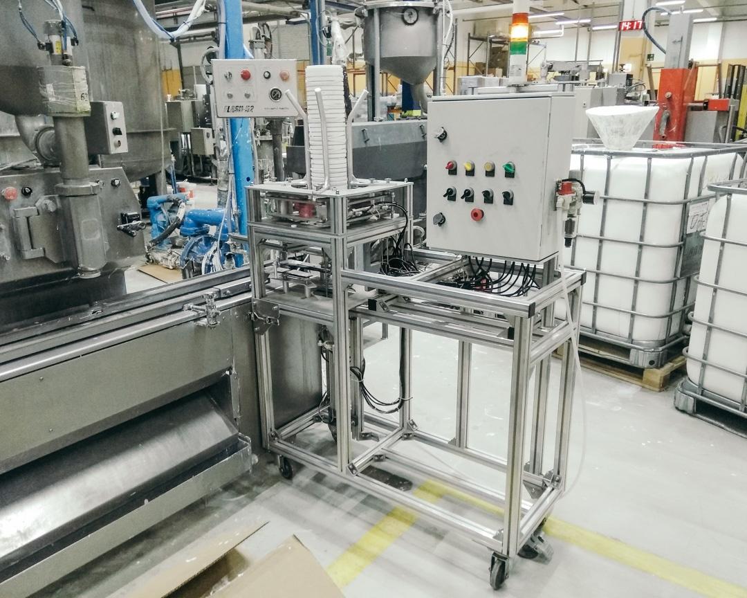 Установка для подачи тары, производство МетКБ
