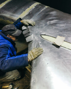 Работа над макетом Messerschmitt Bf 109G