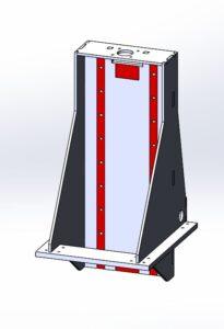Модуль оси X для фрезерного станка