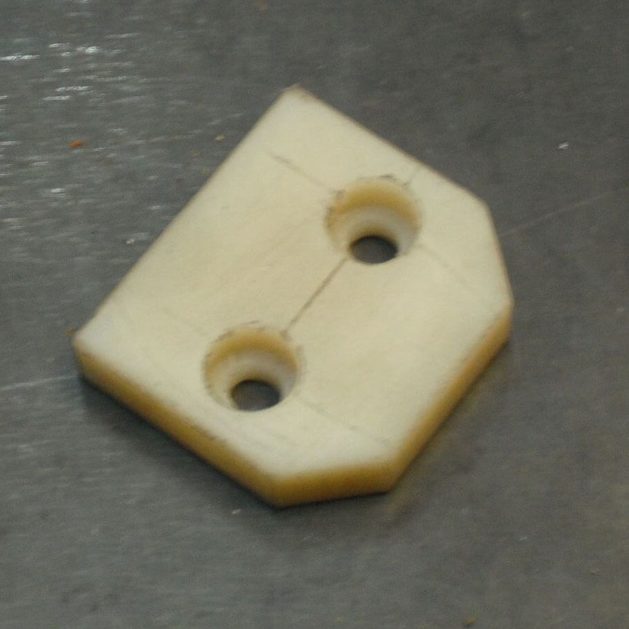 Накладка - изготовление деталей из пластика