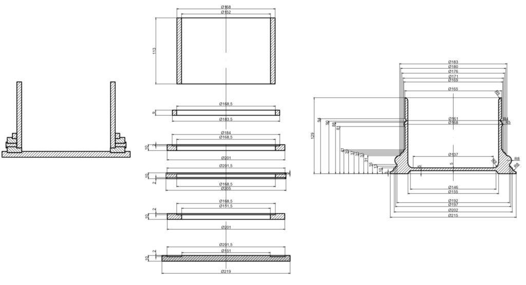 проектирование конструкции деталей