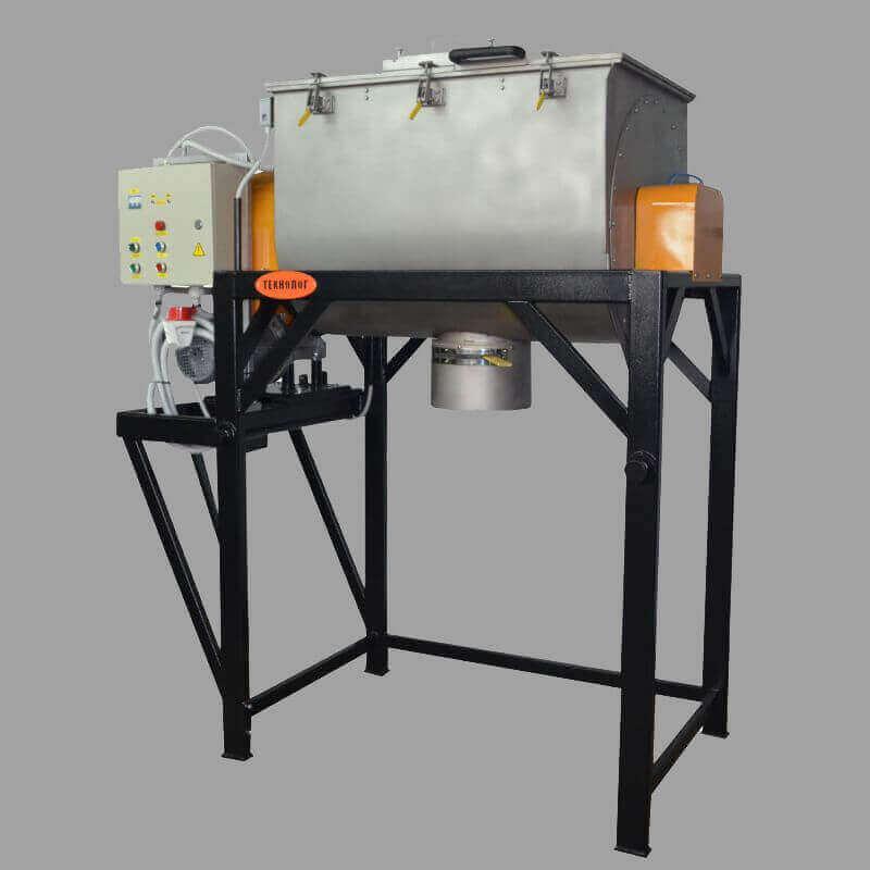Шнековый смеситель - промышленное оборудование, производство